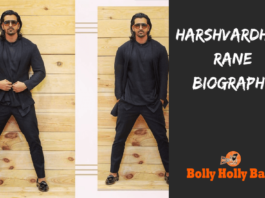 harshvardhan rane biography