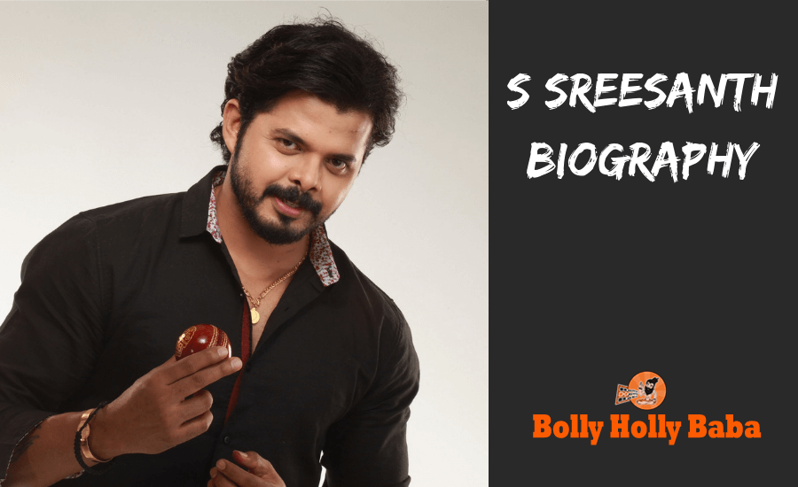 s sreesanth biography