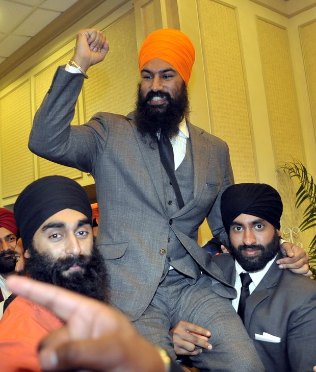 Jagmeet Singh Bio Family Biodata Canadian Leader Age Lawyer
