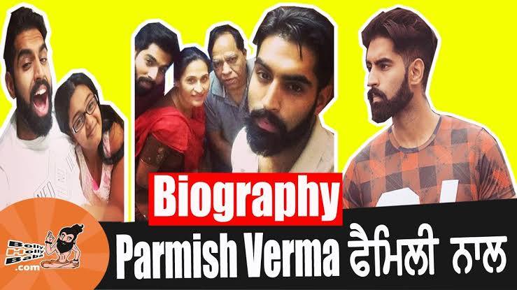 Parmish Verma with his family, father,mother and Permish Verma Personal life