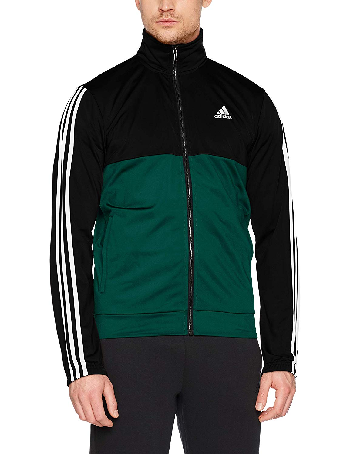 Parmish Verma Green and Black Tracksuit, buy online on amazon