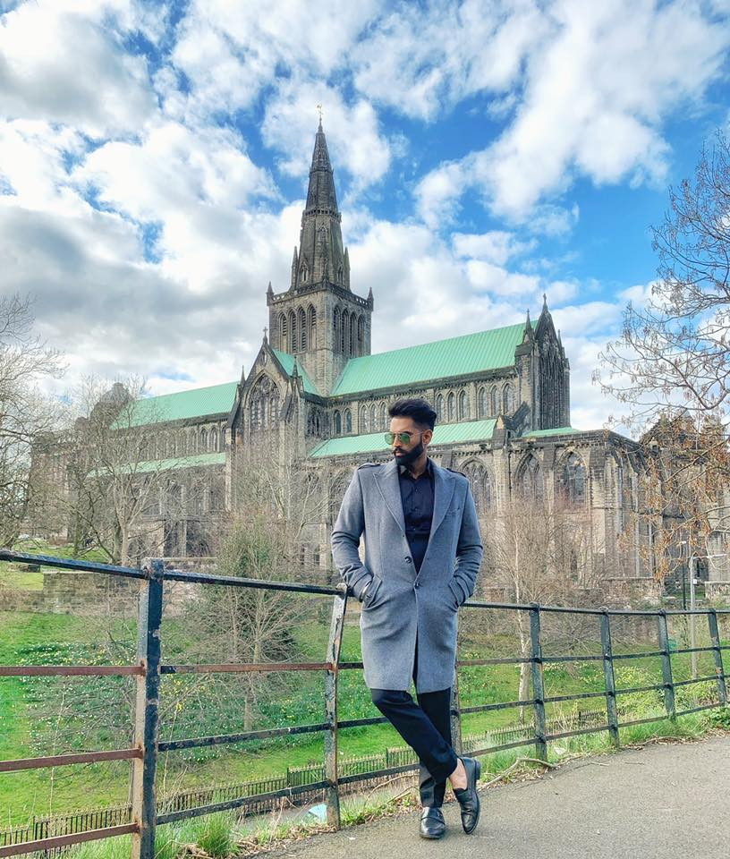 Parmish Verma when reached at australia and doing Hotel Management course