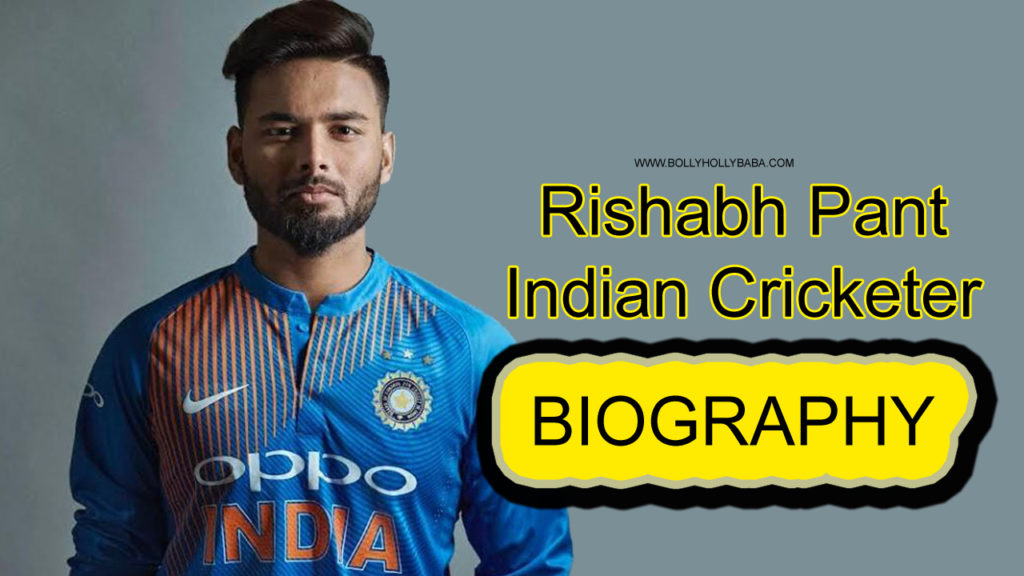 Rishabh Pant,biography,family,cricketer,under 19 match,world cup,6 december 2019 match