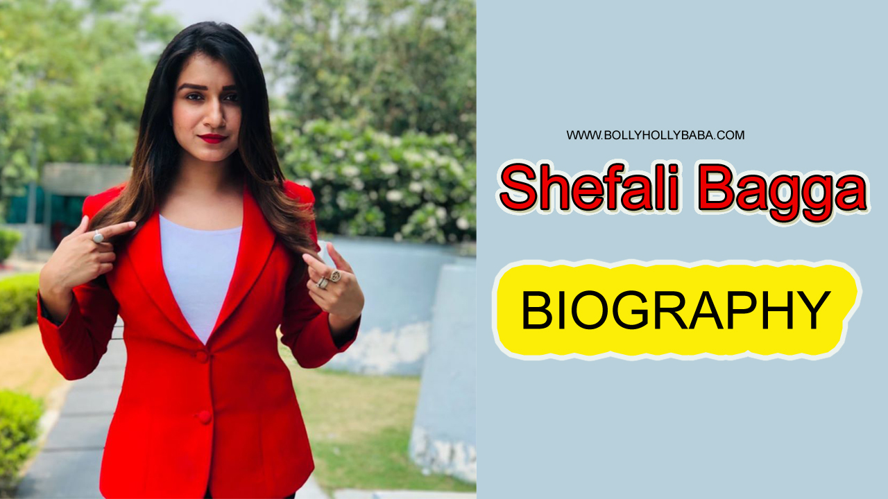 Shefali Bagga,Biography,family,biodata,shows,anchor,news reporter,boyfriend