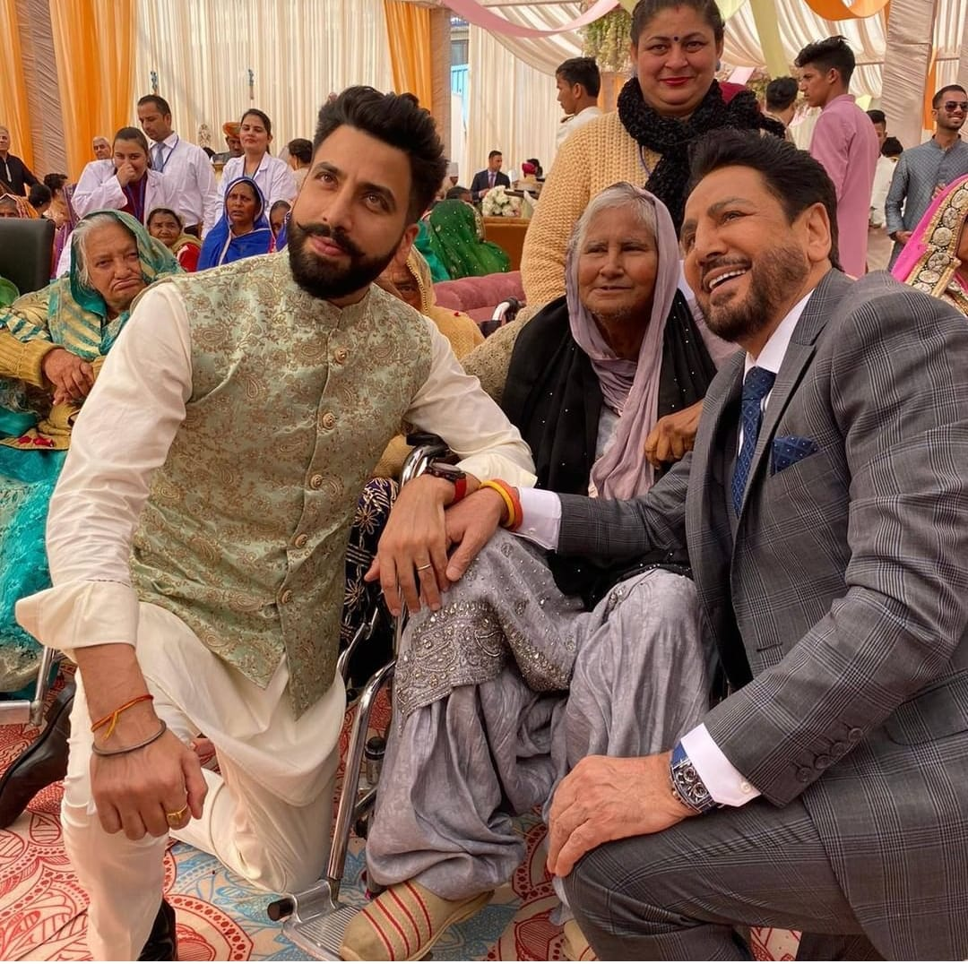 Gurdas Maan Son Marriage,family,gurikk maan,simran kaur mundi,prabh asra orphanage