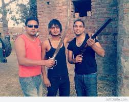 Shooter movie, ban,sukha kahlwan, gangster,captain amrinder ban shooter movie